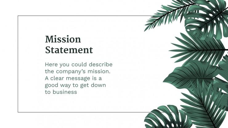 Plantilla de presentación Plan de negocios Pical