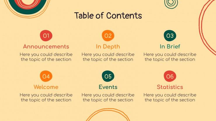 Modelo de apresentação Notícias de ONGs