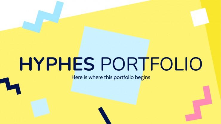 Plantilla de presentación Porfolio Hyphes