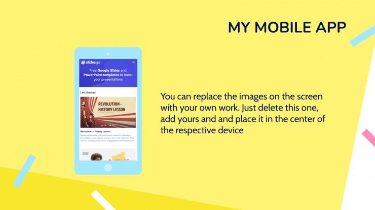 Hyphes Portfolio presentation template