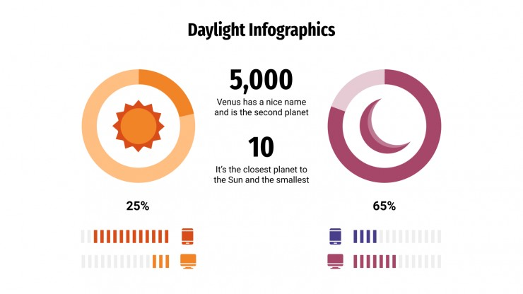 Daylight Infographics presentation template