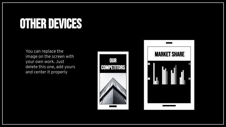 Plantilla de presentación Plan de marketing minimalista