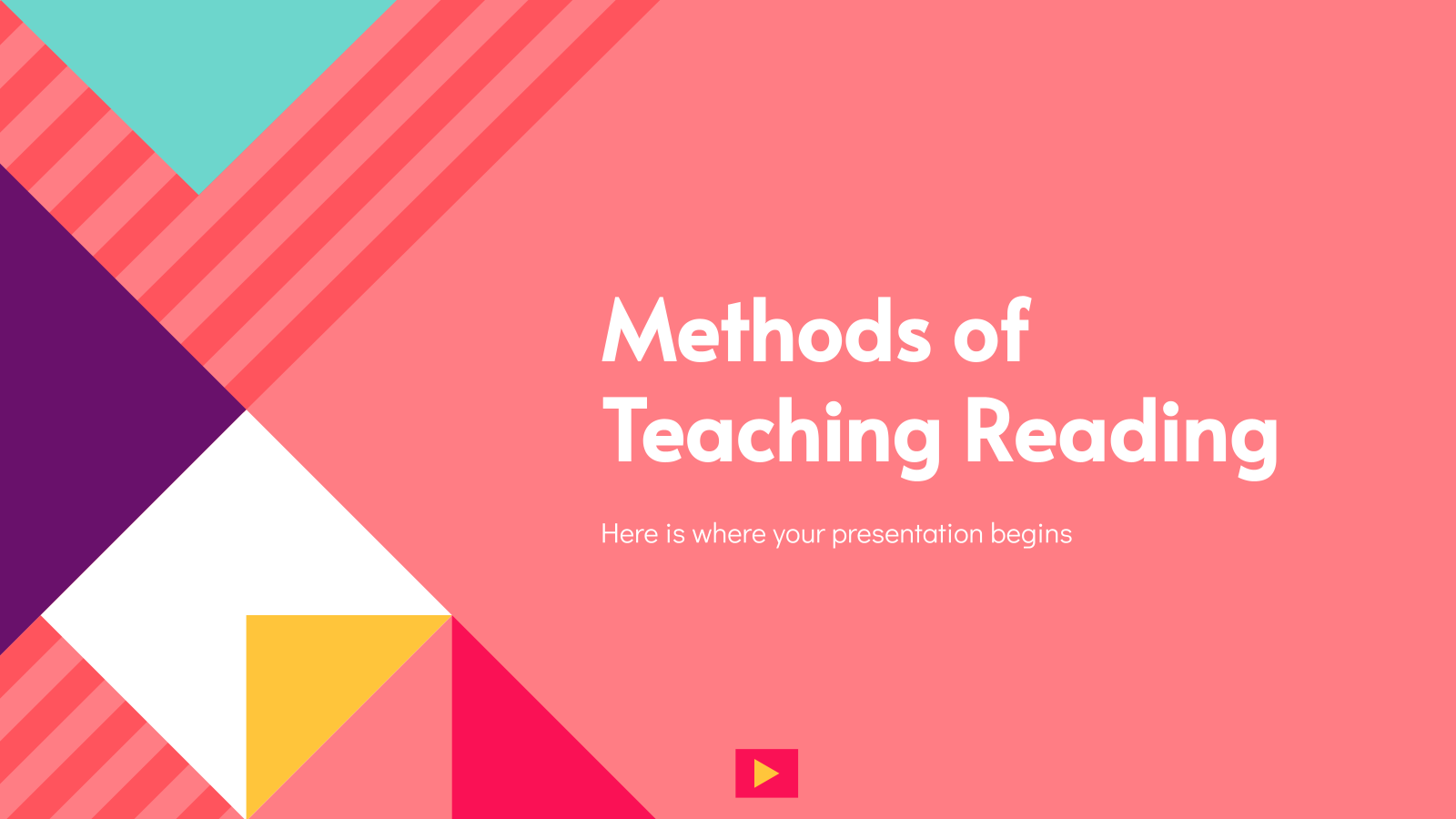 Methods of Teaching Reading presentation template