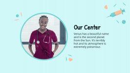 Plantilla de presentación Centro médico
