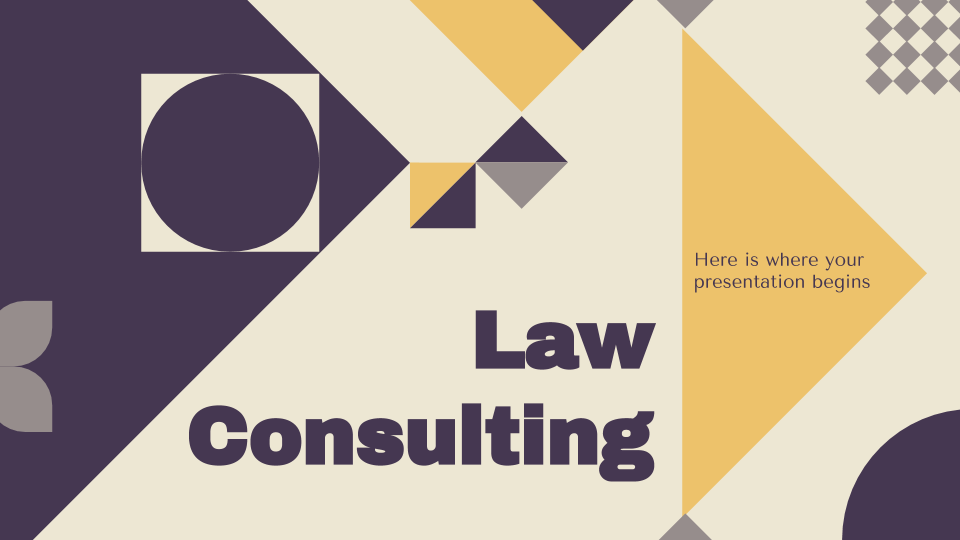 Law Consulting Sales Pitch Presentation - Free Google Slides theme and Powerpoint template