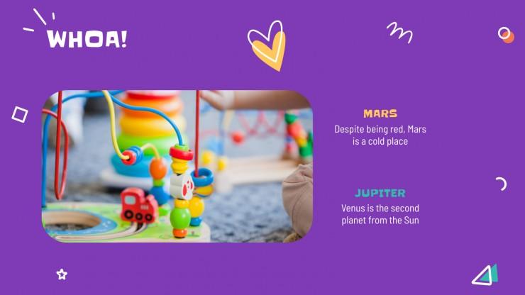 Modelo de apresentação Jogos para crianças