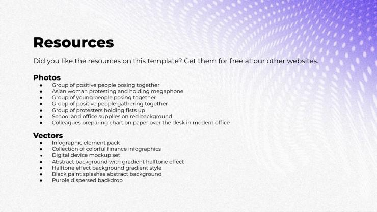 Ellate : Modèles de présentation