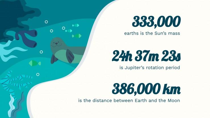 Plantilla de presentación Salvemos a las focas