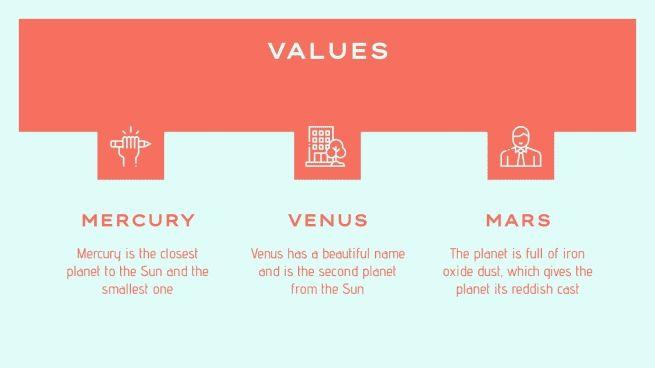 Simple Custom Portfolio presentation template