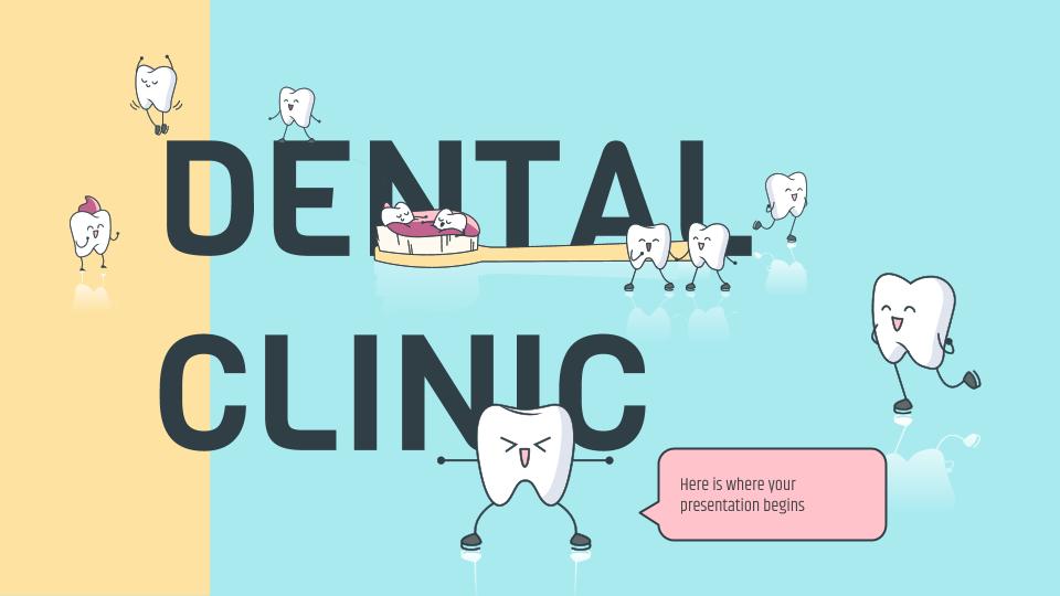 Clinique dentaire : Modèles de présentation