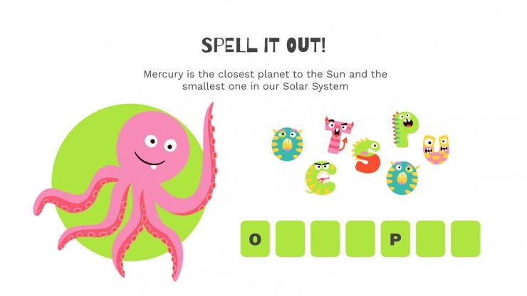 Spelling Workshop presentation template