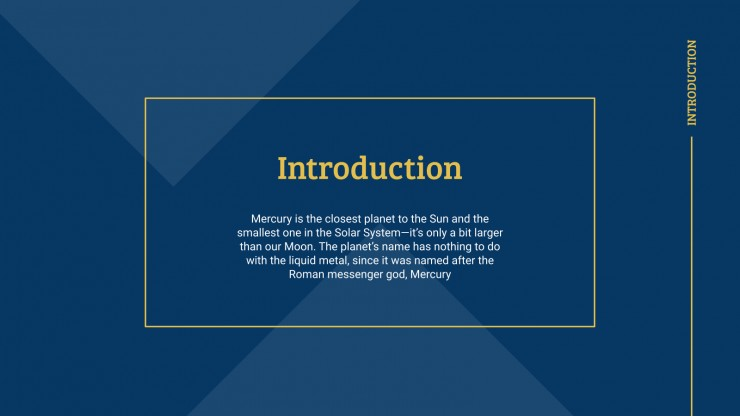 University Introduction presentation template
