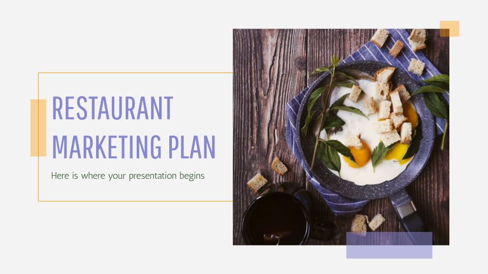 Restaurant Marketing Plan Presentation - Free Google Slides theme and Powerpoint template