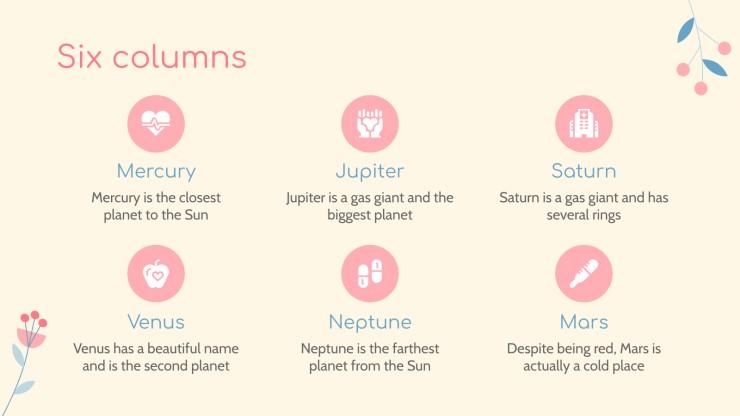 Pregnancy Calendar presentation template