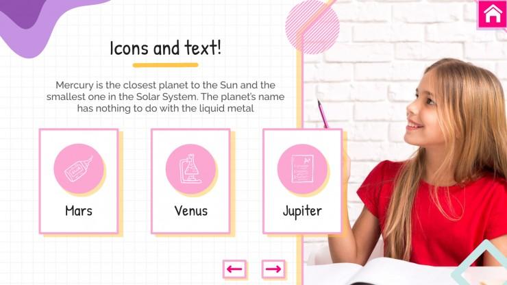 Geometry Lesson presentation template