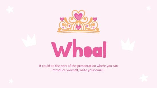 Crowns and Diadems Campaign presentation template