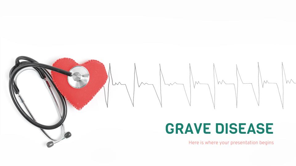 Maladie grave : Modèles de présentation