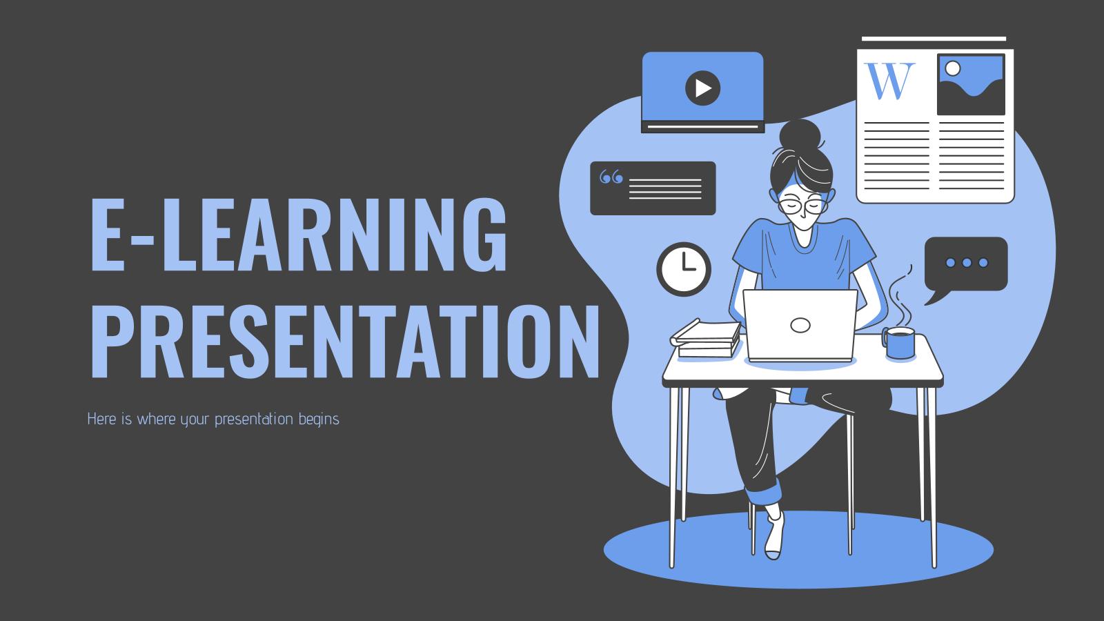 Apprentissage en ligne : Modèles de présentation