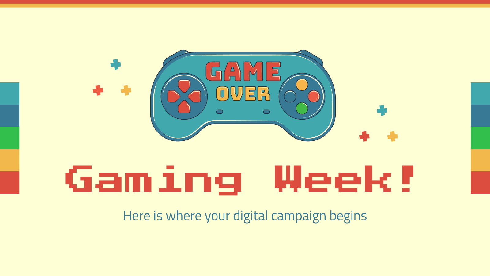 Gaming Week! presentation template