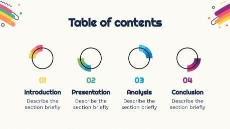 Interactive Color Wheel Exercises presentation template