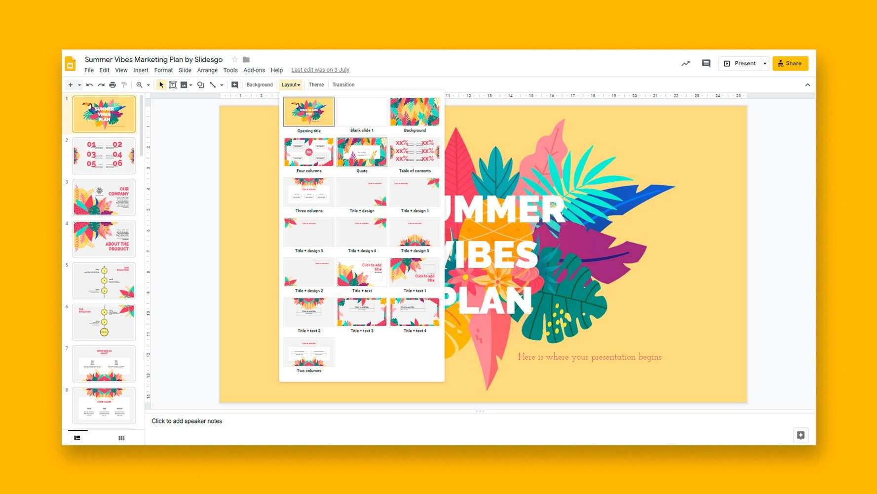 How to Change the Design in Google Slides | Quick Tips & Tutorial for your presentations