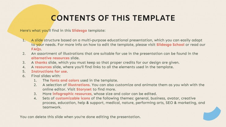 Wiki Dictionary Slides presentation template