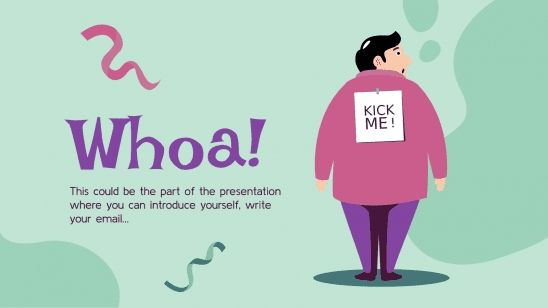 April Fools' Day! presentation template