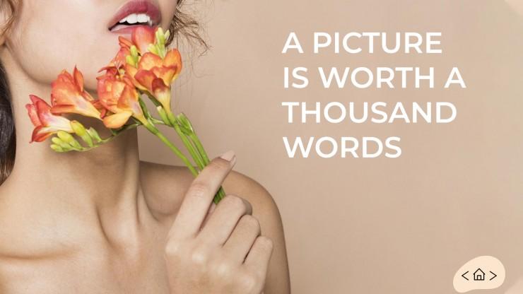 Plantilla de presentación Estudio de fotografía