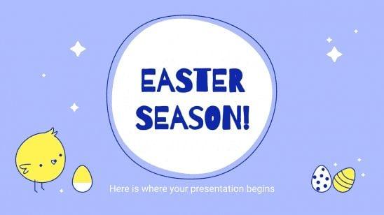 Saison de Pâques : Modèles de présentation