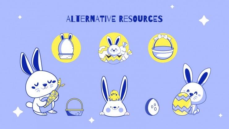 Plantilla de presentación ¡Es temporada de Pascua!