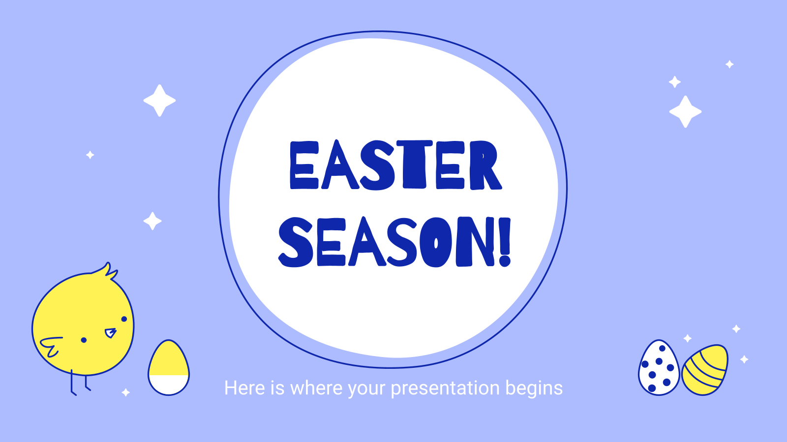 Easter Season presentation template
