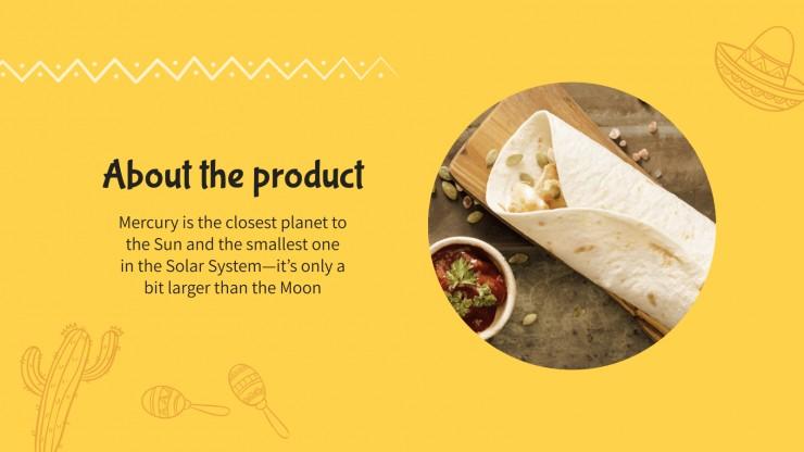 Journée nationale du burrito aux États-Unis : Modèles de présentation