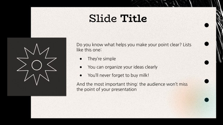Dark & Soft Gradients Pitch Deck presentation template