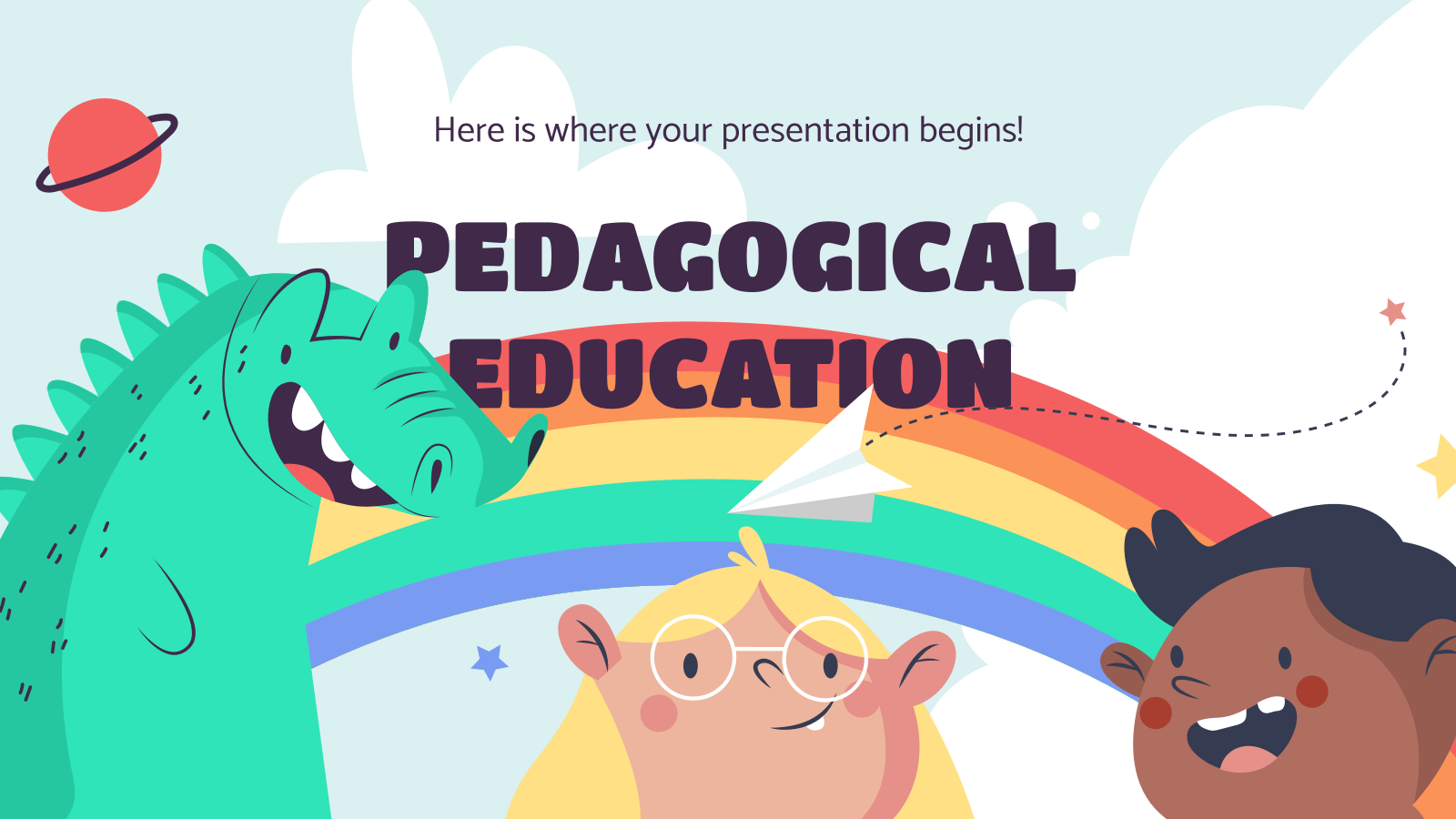 Pedagogical Education presentation template