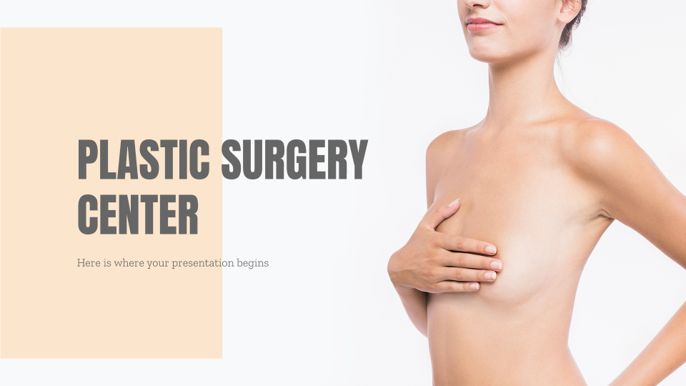 Plastic Surgery Center presentation template