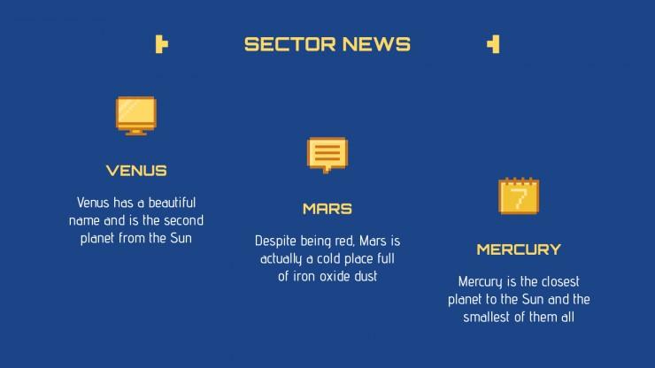 Newsletter sur les jeux vidéo rétro : Modèles de présentation