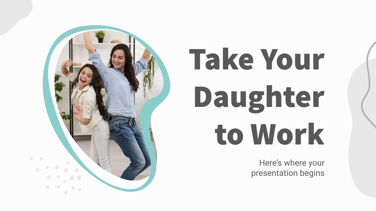 Take Your Daughter to Work presentation template