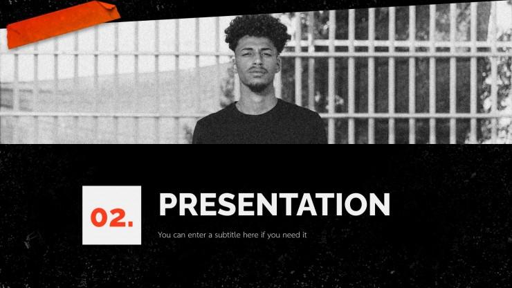 Black History Month presentation template