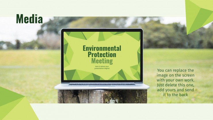 Environmental Protection Meeting presentation template