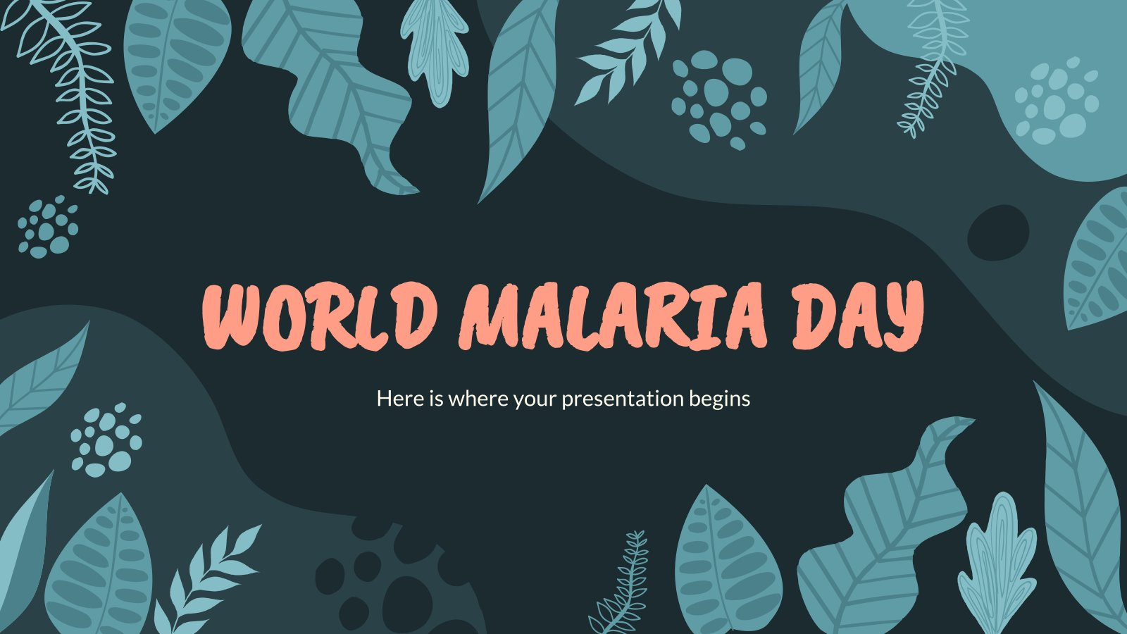 World Malaria Day presentation template