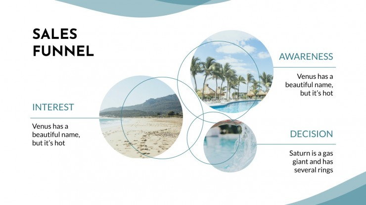 Hotel-Marketingplan Präsentationsvorlage