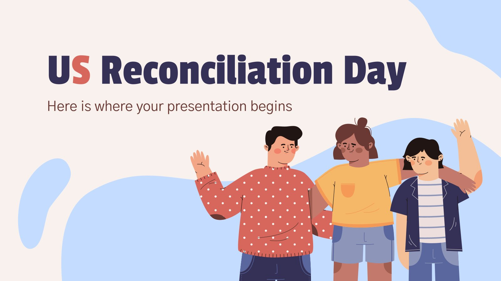 US Reconciliation Day presentation template