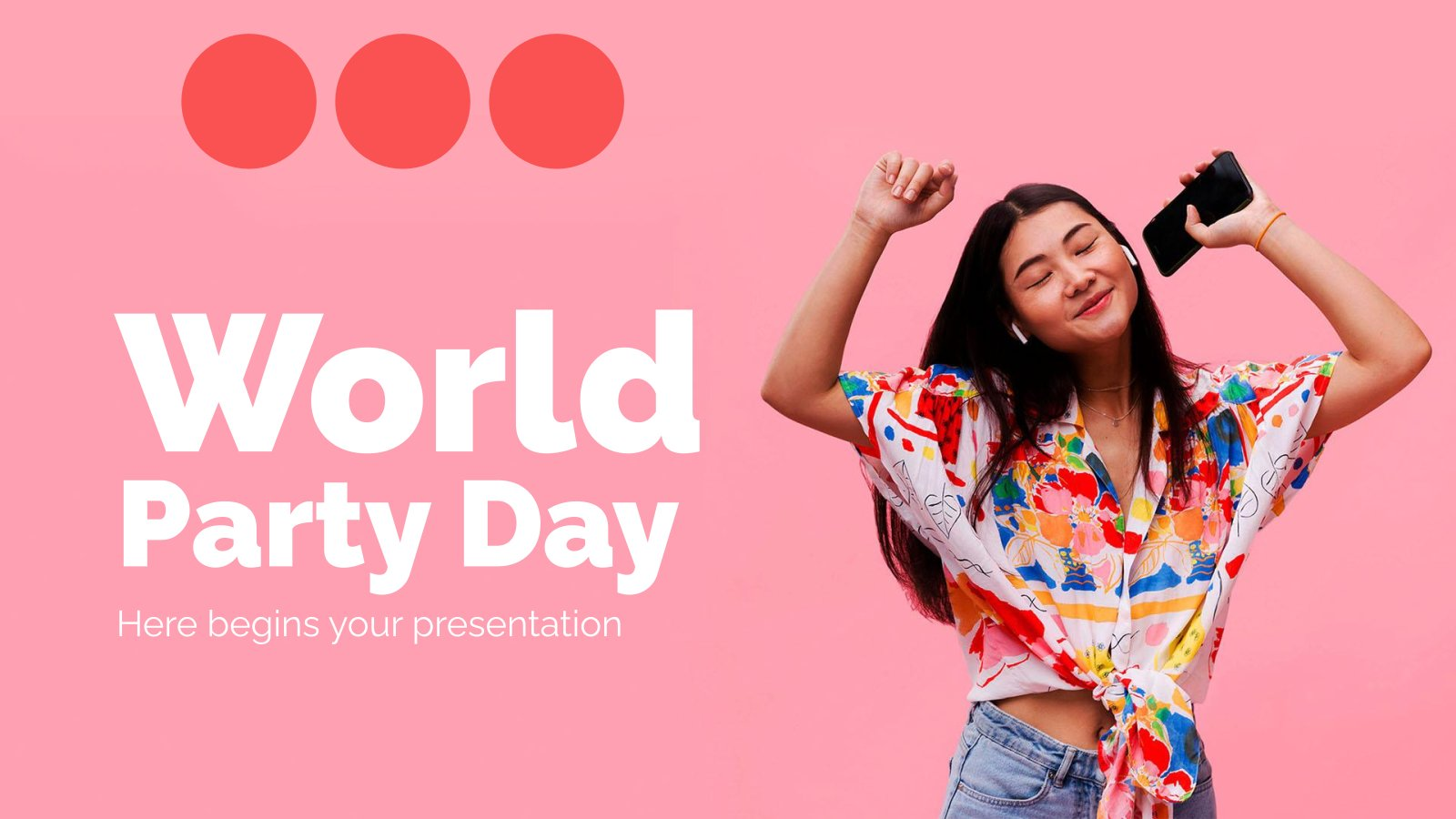 World Party Day presentation template