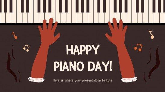 Journée Mondiale du Piano ! : Modèles de présentation