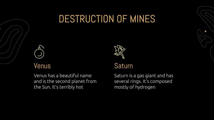 Journée de sensibilisation au problème des mines : Modèles de présentation