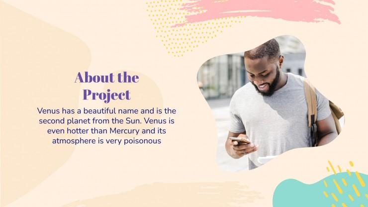 Plantilla de presentación Propuesta de proyectos Bustic
