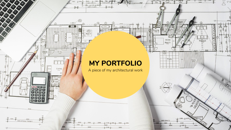 Architecture Portfolio presentation template