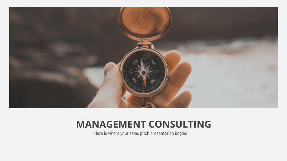 Plantilla de presentación Consultoría de gestión