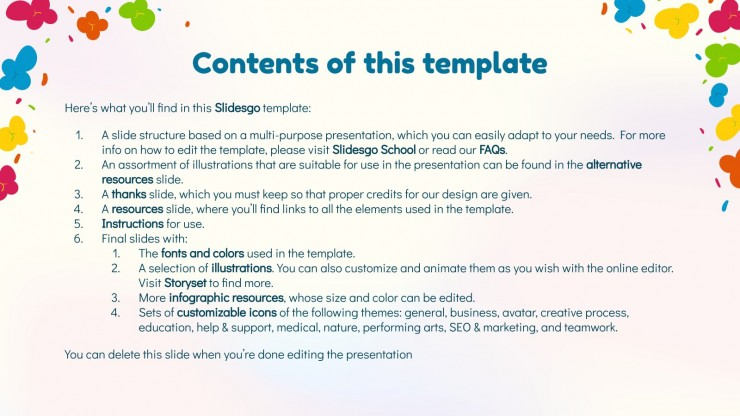 Caramel Popcorn Day! presentation template