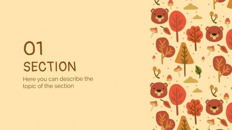 Modelo de apresentação Dia Internacional do Castor
